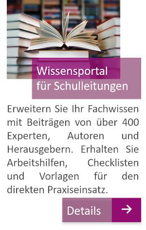 Wissensportal für Schulleitungen, schulleitungswissen.de