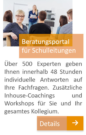 Beratungsportal für Schulleitungen, schulleitungsberatung.de