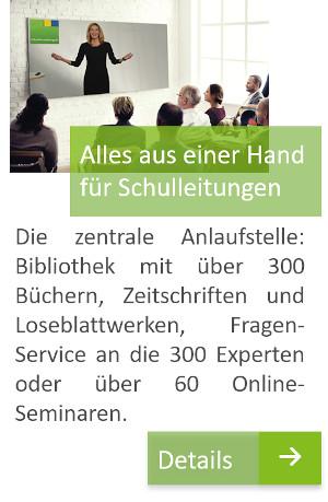 Alles aus einer Hand für Schulleitungen, schulverwaltung.de